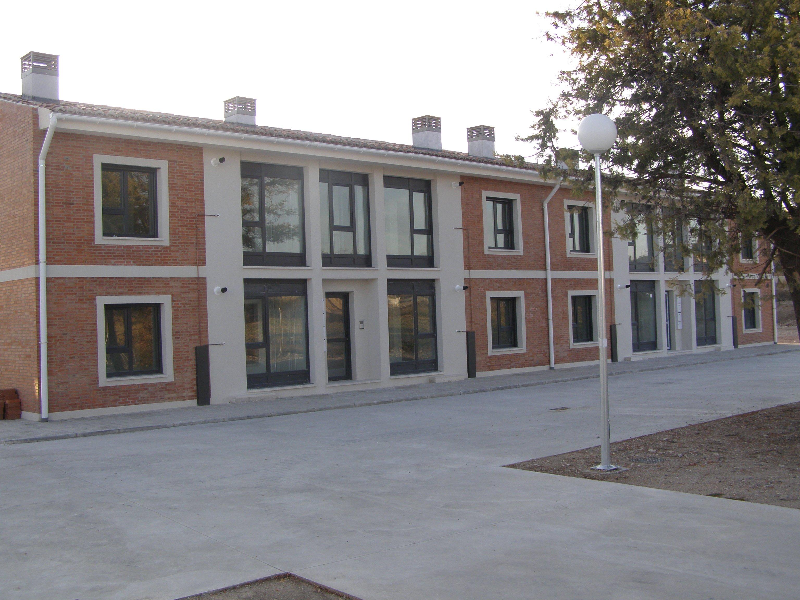 Edificios Pabellones acceso