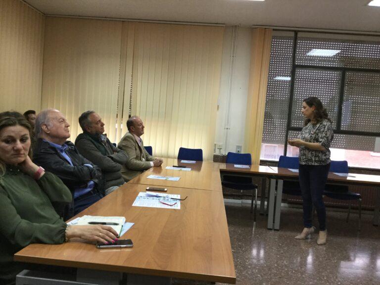 Conferencia en la Asociación de Empresarios CPOE