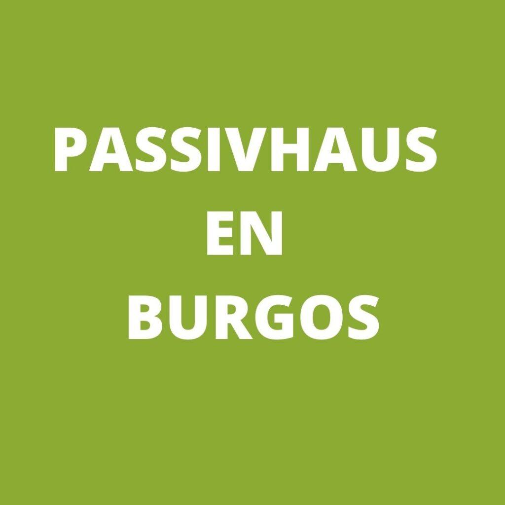 Passivhaus en Burgos