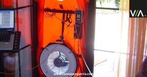 test de blower door